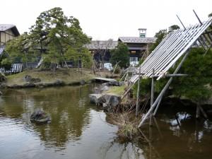 ねぷた村 庭園