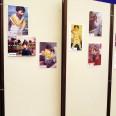 幼き日の選手の写真を展示